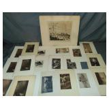 Lot of Etchings and Engravings.