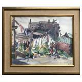 Elizabeth Withington (1880 - 1962) Watercolor
