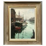 Paul Strisik (1918 - 1998) Oil on Canvas