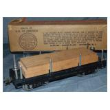 Clean Boxed Late 211 Lumber Car