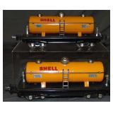 2 Clean Lionel 2815 Shell Tank Cars