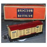Nice Boxed Lionel 2813 Cattle Car