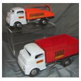 2 Nice Structo Wind-Up Trucks