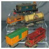 4pc American Flyer Freight Set