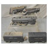 5pc Lionel Loco & Tender Group