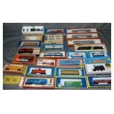 Large Lot Boxed HO Trains