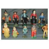 Assorted Cast Iron Figures