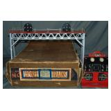 Clean Boxed Late Lionel 440N Signal Bridge