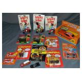 Assorted Character Vehicles and Toys