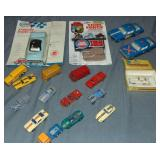 Assorted 1960s Plastic Vehicles