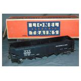 Clean Boxed Lionel 2956 B&O Semi-Scale Hopper