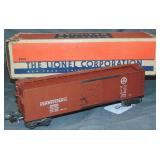 Clean Boxed Lionel 2954 PRR Semi-Scale Boxcar