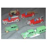 7Pc TootsieToy Vehicle Lot