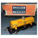 Scarce Boxed Lionel 515 Shell Tank Cars