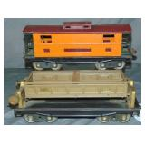 Early Lionel 217 & 218 Freight Cars