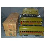 3Pc Lionel 8E Passenger Set