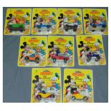 9 Matchbox Disney Vehicles on Cards