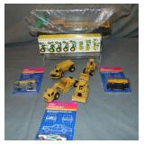 Assorted Siku & Ertl Vehicles
