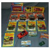 17 Assorted Vintage Matchbox Vehicles
