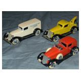 3 Clean TootsieToy Graham Vehicles