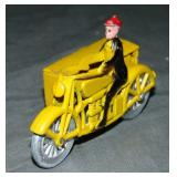Super TootsieToy Smitty Delivery Motorycle