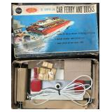 Scarce Boxed Japanese Car Ferry & Docks
