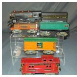 6Pc American Flyer 401 Steam Freight Set