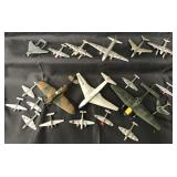 Large Lot of Dinky Airplanes