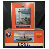 Boxed Lionel 14172 & 24119 Nautical Accessories