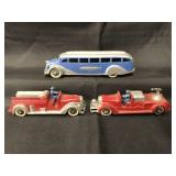 3 Nice TootsieToy Vehicles