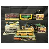 Corgi & Dinky Toy Vehicle Lot