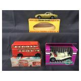 3Pc Boxed Toy Vehicle Lot