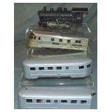 4Pc American Flyer O Gauge Lot