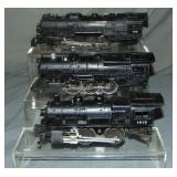 Lionel 736, 1615 & 2025 Steam Locomotives