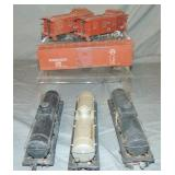 Lionel Scale Freight Car Lot
