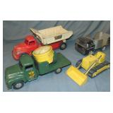 4 Pc Toy Truck Lot