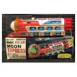 Boxed Battery Op Magic Color Moon Express