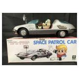 Scarce, Battery Op Bandai Space Patrol Car