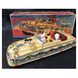 Boxed, Tin Windup Marx Disney Parade Roadster