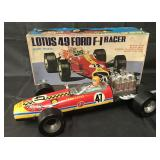 Boxed, Battery Op Lotus 49 Ford F-1 Racer, Daishin