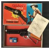 Mint in Box Japanese Wanted Dead or Alive Toy Gun
