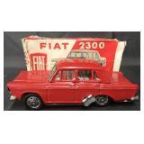 Boxed, Tin Litho Windup Fiat 2300, Japan