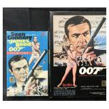 Lot of 2 James Bond Dr. No Japanese Model Kits