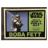 Boxed, Star Wars Boba Fett Vinyl Model Kit, Japan