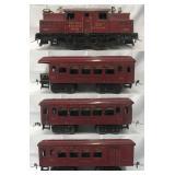 Ives 3241 Red Passenger Set