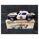 Boxed Battery Op Highway Patrol Car, Taiyo Japan