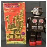 Boxed Battery Op Attacking Martian Robot, SH Japan