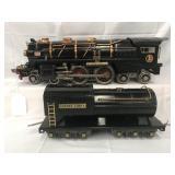 Clean Lionel 400E Steam Locomotive