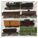8Pc Lionel 6 Steam Freight Set