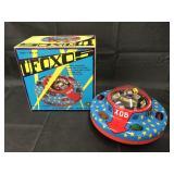 Tin Litho & Plastic Battery Op UFO X05 Japan